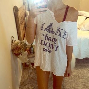 Lake Hair Don't Care top by Judith March